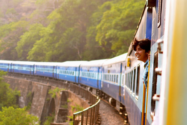woman-on-train